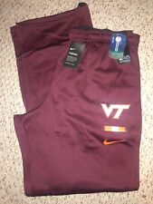 NWT Nike On Field Virginia Tech Hokies Football Mens Sweatpants 3XLT
