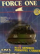 VINTAGE ERTL Force One M113 Armored Personnel Carrier DieCast Model