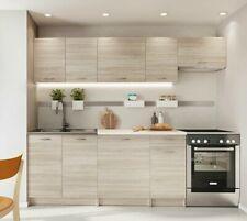 Küchenmöbel Reykjavik II Einbauküche Küchenblock Küchenzeile Schrank Elegant M24
