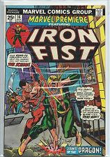Marvel Premiere #16 VF 7.5 2nd Appearance Of Iron Fist