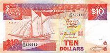 Singapore $10  ND. 1988 P 20  Prefix B/52 circulated Banknote G. A2