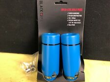 BMX Freestyle Black Ops Nylo-Lite Nylon Axle Pegs Blue