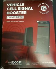WeBoost Drive Sleek 470135 Vehicle Cell Phone Signal Booster Kit Read Descriptio