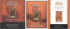 Susan Bauer - Story of the World 1: Ancient Times Set of 3 - Cds, Act, Tests New