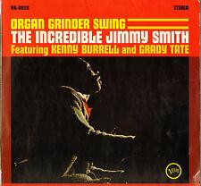 "JIMMY SMITH ""ORGAN GRINDER SWING"" ORGAN JAZZ LP VERVE !"