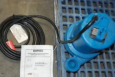 "Barnes Eh1092L, 2"" Submersible Pump, 1Hp, 200/240V, 3Ph, 105069 New no Box"