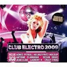 1407 // CLUB ELECTRO 2009 COFFRET 3 CD NEUF SOUS BLISTER 56 TITRES