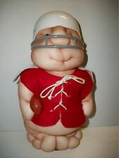 Very Rare Plush 1984 Pudgie People Football Player