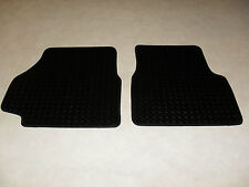 Land Rover Defender 90/110 Fully Tailored 5mm RUBBER Car Mats in Black.