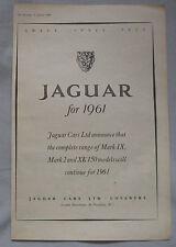 1960 Jaguar Original advert No.5