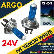 H4 100W 24V 472 Mercedes ATEGO Actros MP2 Lkw Xenon 24 Volt Weiß Glühbirnen