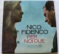 NICO FIDENCO LP PER NOI DUE 33 GIRI VINYL ITALY 1963 RCA ITALIANA PML10366 NM/NM