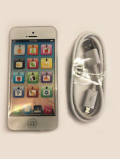 Toy Phone Baby Childrens Kids Education Learning iPhone Toy Gift 5s White Smart