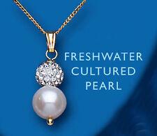 Collane e pendagli di bigiotteria perle bianche a goccia