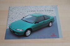 106257) Honda Civic Coupe Prospekt 08/1993
