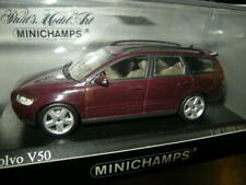 1:43 Minichamps Volvo V50 2003 dark red/dunkelrot Nr 400171212 in OVP