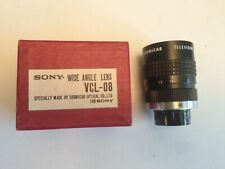 Sony / Cosmicar VCL-08 50mm f/1.8 Television lens