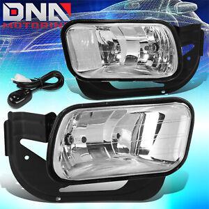 FOR 2009-2018 DODGE RAM 1500 2500 3500 CLEAR LENS FRONT DRIVING FOG LIGHT LAMPS