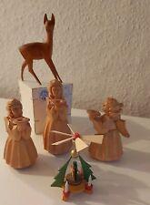 ?DDR Weihnachtsdeko Holztiere Engel Pyramide Nostalgie