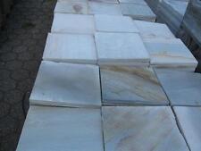 Terrassenplatten 1qm 37x37x3cm  Natursteinplatten Quarzit weiss grau