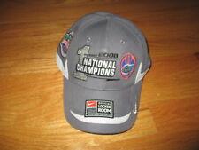 2009 Fed Ex BCS FLORIDA GATORS 1st National Champs (Adjustable) Locker Room Cap