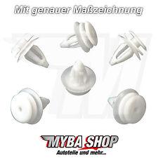 15x VERKLEIDUNGS CLIPS TÜRVERKLEIDUNGSKLIPS BMW E46 E60 51418224768 NEU