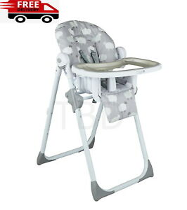 Cuggl Adjustable Baby Highchair Infant High Feeding Seat Toddler Table Chair UK
