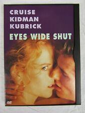 Eyes Wide Shut (Dvd, 1999) Tom Cruise Nicole Kidman Stanley Kubrick