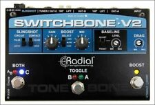 Radial Switchbone V2 ABY/C Amp Selector and Booster New 2 Day Delivery
