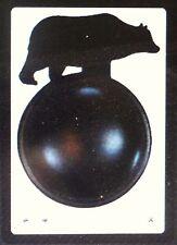 Cupboard Door Knob Wrought Iron Bear Black Sturdy