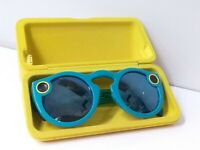 Snap Inc. Snapchat Spectacles Glasses Teal - OnyxEclipse W/Case No Charging Cord