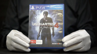 Uncharted 4 A Theif's End PS4 Game Boxed - 'The Masked Man'