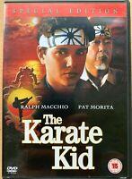 The Karate Kid DVD Originale 1984 Arti Marziali Classico Edizione Speciale
