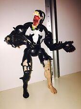 "Marvel Legends Spiderman Classics Venom 7"" figure Toybiz 2000 Eddie Brock"