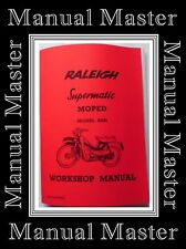 Raleigh RM5 Supermatic Moped Workshop Manual Booklet