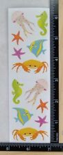 Mrs Grossman SEA LIFE Stickers SEA HORSE CRAB JELLY, STAR RETIRED 2009