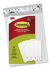 Command 17206-ES Lot de 4 bandes à suspendre Blanc Taille L, PH206-12NA