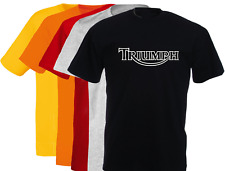 T-shirt logo TRIUMPH, moto, vintage, motards, bikers, S, M, L, XL, NEUF, NEW