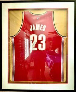 LeBron James Signed Cavaliers #23 Jersey | Rookie Jersey | Upper Deck COA | MVP