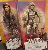 Mattel DC Wonder Woman WW84 Barbara Minerva and Cheetah Dolls GKH93 GKH98 GKH95