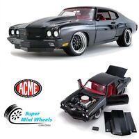 ACME 1:18 - 1970 Chevrolet Chevelle 454 SS GForce Street Fighter - Black