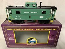 ✅MTH PREMIER PENN CENTRAL LIGHTED N-8 CABOOSE NEW! YORK
