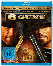 6 Guns NEW Euro-Westerns Blu-Ray Disc Shane Van Dyke Barry Van Dyke Greg Evigan
