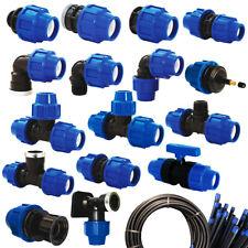 PP-Fitting Verschraubung PE-Rohr Trinkwasser DVGW Klemmverbinder 20 25 32 40 50