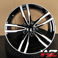 18 inch M Style Wheels Black Machined  Fits BMW 1 2 3 4 Series 328 330 335 M3