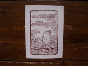 Exlibris Bookplat von Geza Laszlo de Laborfalva - 1912