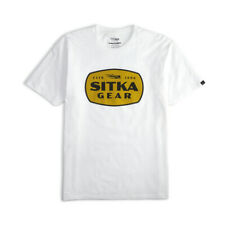 Sitka Hunt Patch Tee Shirt White