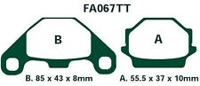 EBC plaquettes de freins fa067tt essieu arrière GOES 350 s (quad) 08-09