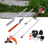 52cc Heavy Duty 5in1 Multifunction Petrol Trimmer Grass Trimmer 2 stroke Cutter