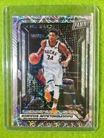 GIANNIS ANTETOKOUNMPO PRIZM CARD JERSEY #34 SP /99 REFRACTOR - 2019 National VIP